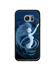 Coque Aquarius Girl La Petite Sirene pour Samsung Galaxy S7 - LouJah