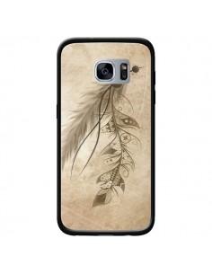 Coque Bohemian Feather Plume Attrape Reves pour Samsung Galaxy S7 - LouJah