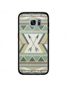 Coque Aztec Pattern Arrows Fleche Azteque Tribal pour Samsung Galaxy S7 - LouJah