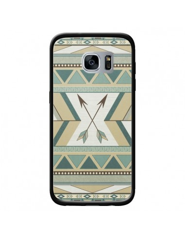Coque Aztec Pattern Arrows Fleche Azteque Tribal pour Samsung Galaxy S7 - LouJah