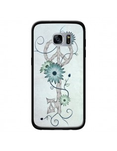 Coque Key to Peace Clef Paix pour Samsung Galaxy S7 - LouJah