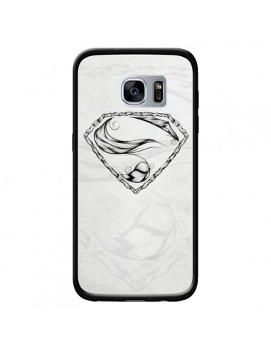 Coque Super Feather Plume Heroe Heros pour Samsung Galaxy S7 - LouJah