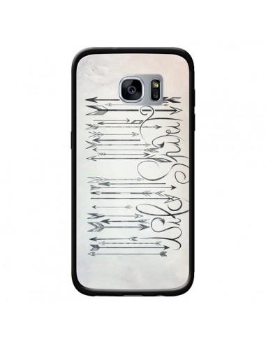 Coque Barcode Wild Spirit Code Barre Flèche pour Samsung Galaxy S7 - LouJah