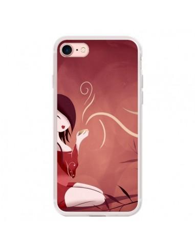 Coque iPhone 7/8 et SE 2020 Femme Thé...