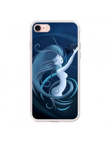 Coque iPhone 7/8 et SE 2020 Aquarius...