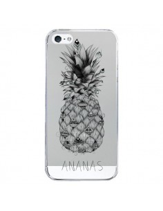 Coque Ananas Fruit Transparente pour iPhone 5/5S et SE - LouJah