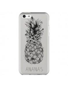 Coque iPhone 5C Ananas Fruit Transparente - LouJah