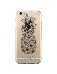 Coque Ananas Fruit Transparente pour iPhone 6 et 6S - LouJah