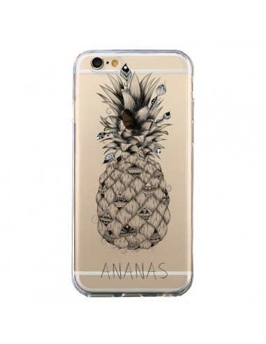 Coque Ananas Fruit Transparente pour iPhone 6 et 6S - LouJah