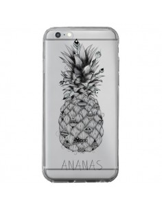 Coque iPhone 6 Plus et 6S Plus Ananas Fruit Transparente - LouJah