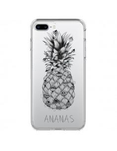 Coque Ananas Fruit Transparente pour iPhone 7 Plus - LouJah