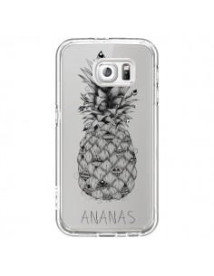 Coque Ananas Fruit Transparente pour Samsung Galaxy S6 - LouJah