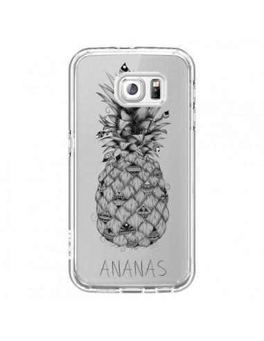 Coque Ananas Fruit Transparente pour...
