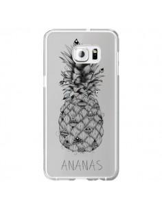 Coque Ananas Fruit Transparente pour Samsung Galaxy S6 Edge Plus - LouJah
