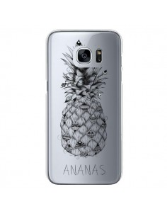 Coque Ananas Fruit Transparente pour Samsung Galaxy S7 - LouJah