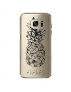 Coque Ananas Fruit Transparente pour Samsung Galaxy S7 Edge - LouJah