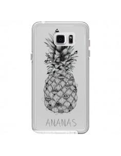 Coque Ananas Fruit Transparente pour Samsung Galaxy Note 5 - LouJah