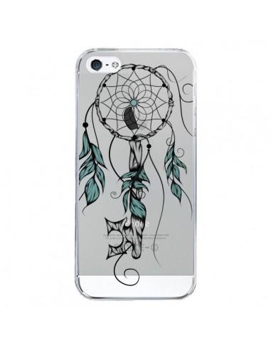 Coque iPhone 5/5S et SE Attrape Rêves Clefs Transparente - LouJah