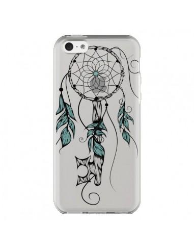 Coque iPhone 5C Attrape Rêves Clefs Transparente - LouJah