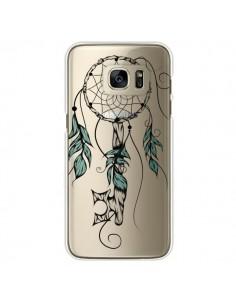 Coque Attrape Rêves Clefs Transparente pour Samsung Galaxy S7 Edge - LouJah