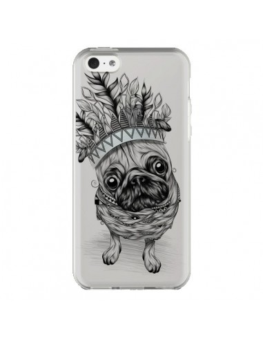Coque iPhone 5C Chien Roi Bulldog...