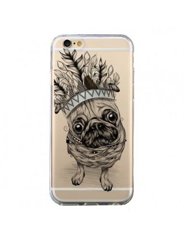 Coque Chien Roi Bulldog Indien Transparente pour iPhone 6 et 6S - LouJah