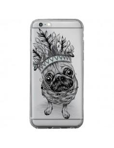 Coque Chien Roi Bulldog Indien Transparente pour iPhone 6 Plus et 6S Plus - LouJah
