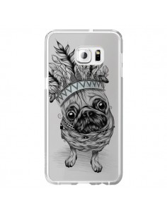 Coque Chien Roi Bulldog Indien Transparente pour Samsung Galaxy S6 Edge Plus - LouJah