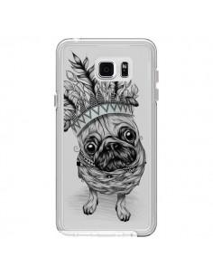 Coque Chien Roi Bulldog Indien Transparente pour Samsung Galaxy Note 5 - LouJah