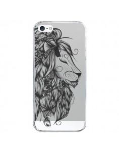 Coque Lion Poétique Transparente pour iPhone 5/5S et SE - LouJah