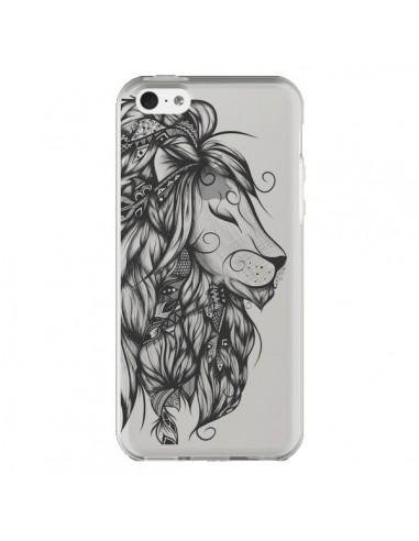 Coque iPhone 5C Lion Poétique...