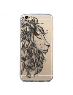 Coque Lion Poétique Transparente pour iPhone 6 et 6S - LouJah