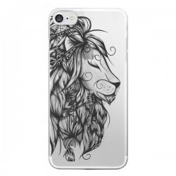 Coque Lion Poétique Transparente pour iPhone 7 - LouJah