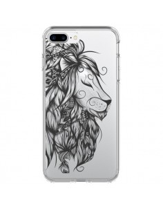 Coque iPhone 7 Plus et 8 Plus Lion Poétique Transparente - LouJah