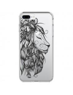 Coque Lion Poétique Transparente pour iPhone 7 Plus - LouJah