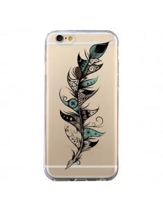 Coque Plume Poétique Transparente pour iPhone 6 et 6S - LouJah