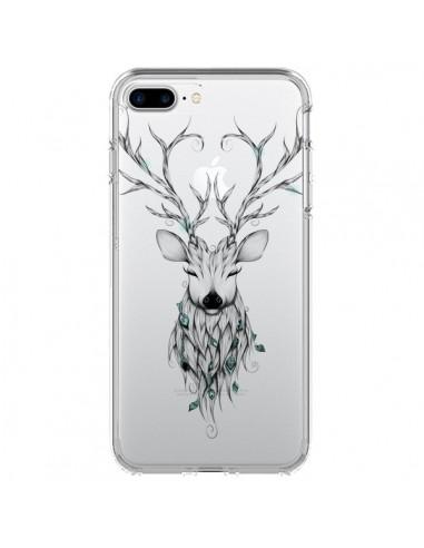 Coque iPhone 7 Plus et 8 Plus Cerf...