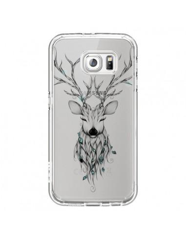 Coque Cerf Poétique Transparente pour Samsung Galaxy S6 - LouJah