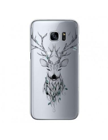 Coque Cerf Poétique Transparente pour Samsung Galaxy S7 - LouJah
