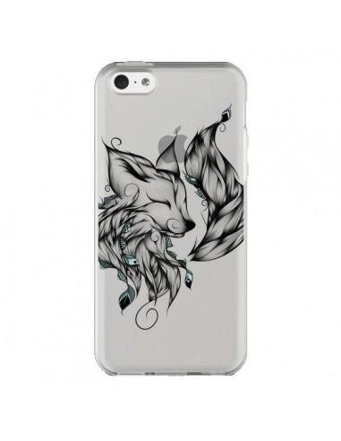 Coque iPhone 5C Renard Transparente - LouJah