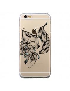 Coque Renard Transparente pour iPhone 6 et 6S - LouJah