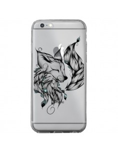 Coque Renard Transparente pour iPhone 6 Plus et 6S Plus - LouJah
