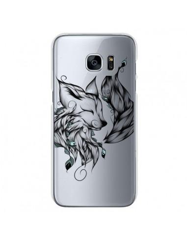 Coque Renard Transparente pour Samsung Galaxy S7 - LouJah