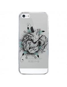 Coque Petit Renard Renardeau Transparente pour iPhone 5/5S et SE - LouJah