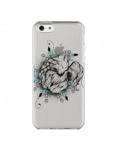 Coque iPhone 5C Petit Renard Renardeau Transparente - LouJah