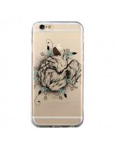 Coque Petit Renard Renardeau Transparente pour iPhone 6 et 6S - LouJah