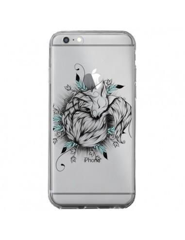 Coque Petit Renard Renardeau Transparente pour iPhone 6 Plus et 6S Plus - LouJah
