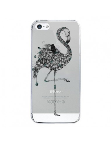 Coque iPhone 5/5S et SE Flamant Rose...
