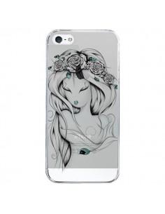 Coque Princesse Poétique Gypsy Transparente pour iPhone 5/5S et SE - LouJah