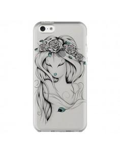 Coque iPhone 5C Princesse Poétique Gypsy Transparente - LouJah